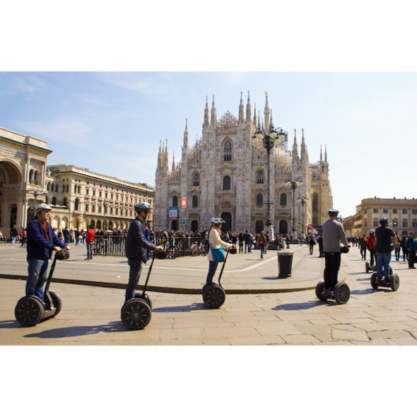 Segway-Tour durch Mailand