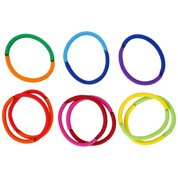 Haargummi-Set - Color Mix