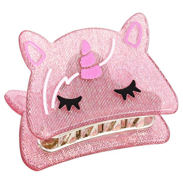 Haarspange - Biting Unicorn