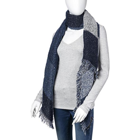 Schal - Blue Winter