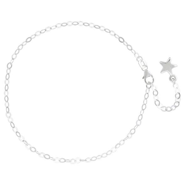 Fußkette - Silver Star