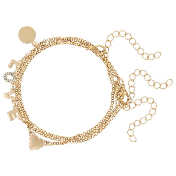 Armband - Golden Love