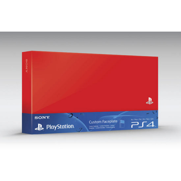 PS4 HDD Cover Red