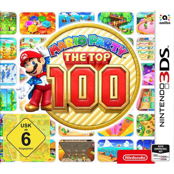 Nintendo Mario Party: The Top 100