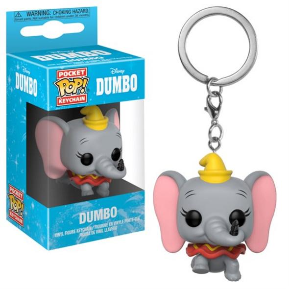 Dumbo - Schlüsselanhänger Pocket POP! Dumbo