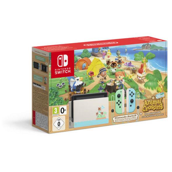 Nintendo Switch Konsole Animal Crossing New Horizons Edition