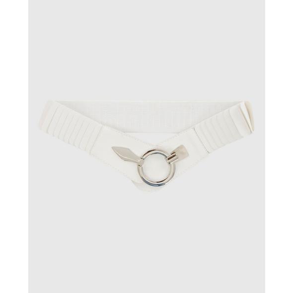 Stretchgürtel in Weiß