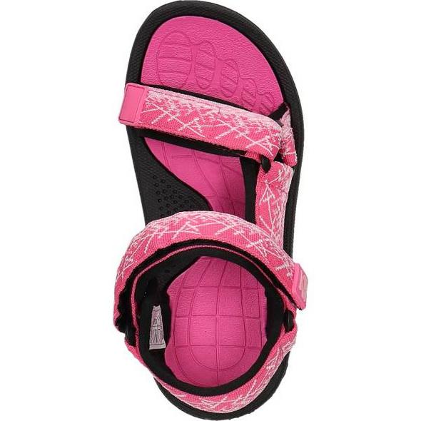 Sandale aus Textil