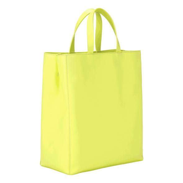 Tragetasche aus Glattleder - Paper Bag Tote M