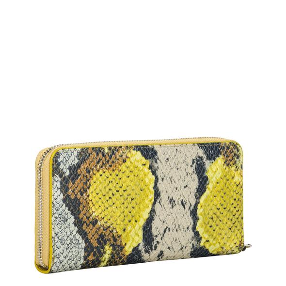Geldbörse mit Schlangenmuste - Zaio Gigi