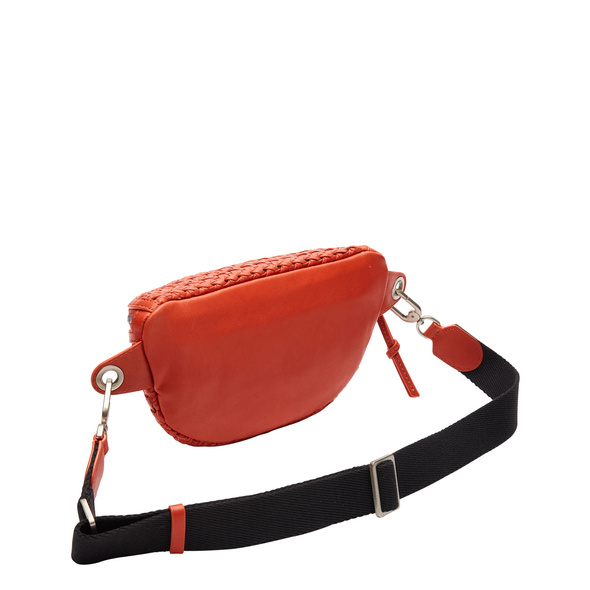 Gürteltasche aus handgeknüpftem Leder - Flax Tavia Belt Bag