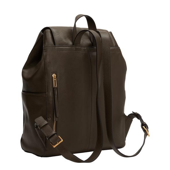 Funktionaler Rucksack aus Leder - Georgia Backpack L