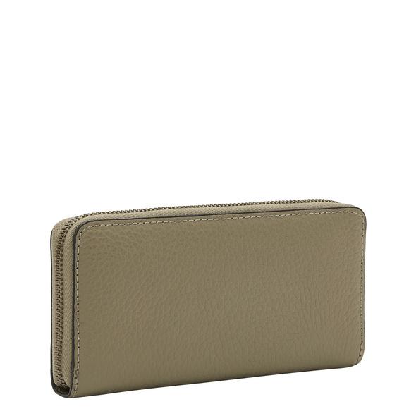 Geldbörse aus Leder mit Reißverschluss - Trudie Sally