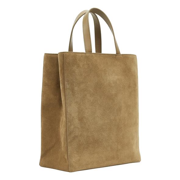 Paper Bag aus Wildleder - Paper Bag Suede Tote M