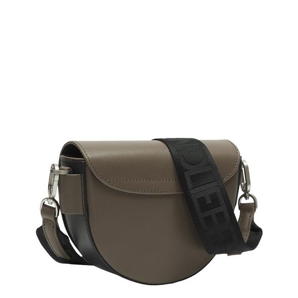 halbrunde Tasche aus Leder - MixeD Bag Crossbody S