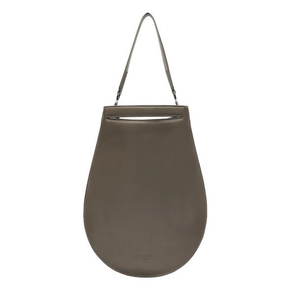 runde Schultertasche aus Leder - Otega Hobo XL