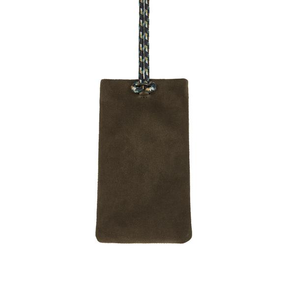 Handy Handtasche zum Umhängen aus Wildleder - Ella Mobile Pouch