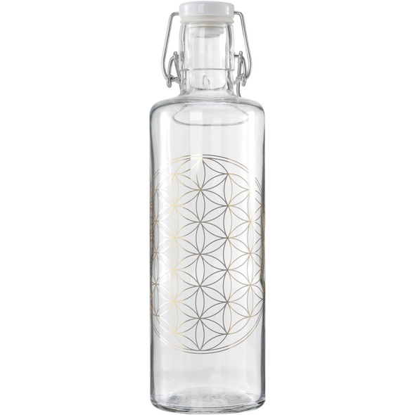 soulbottles Flower of Life Trinkflasche