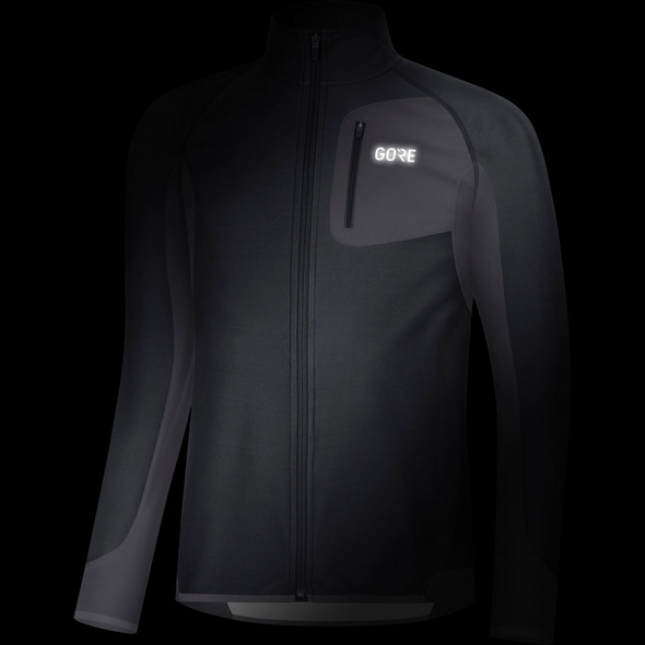 GORE® WEAR R3 Partial WINDSTOPPER® Laufjacke Herren