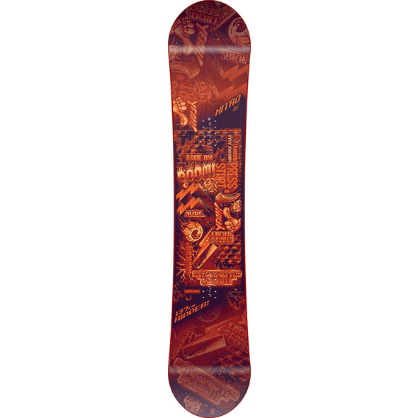 Nitro Snowboards RIPPER YOUTH All-Mountain Board Kinder