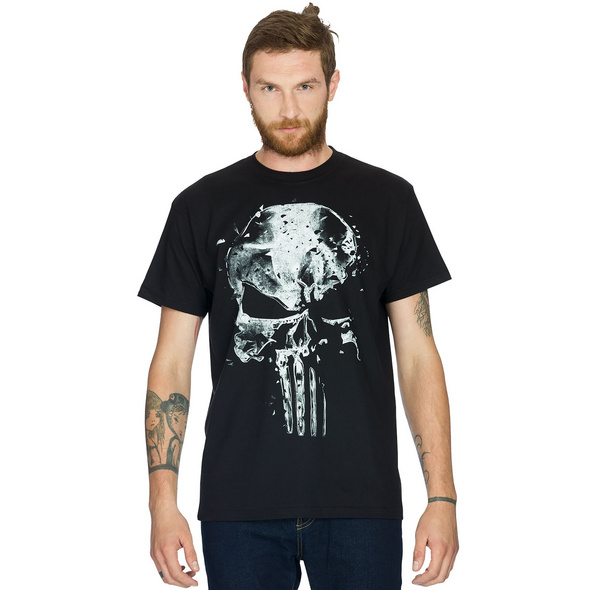 Punisher - Skull T-Shirt schwarz