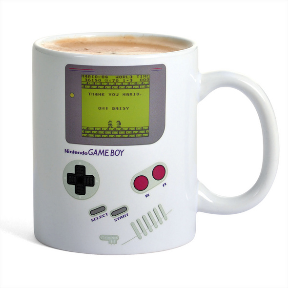 Nintendo - Game Boy Thermoeffekt Tasse