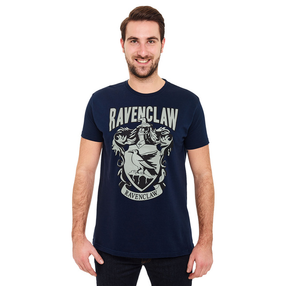 Harry Potter - Ravenclaw Wappen T-Shirt blau