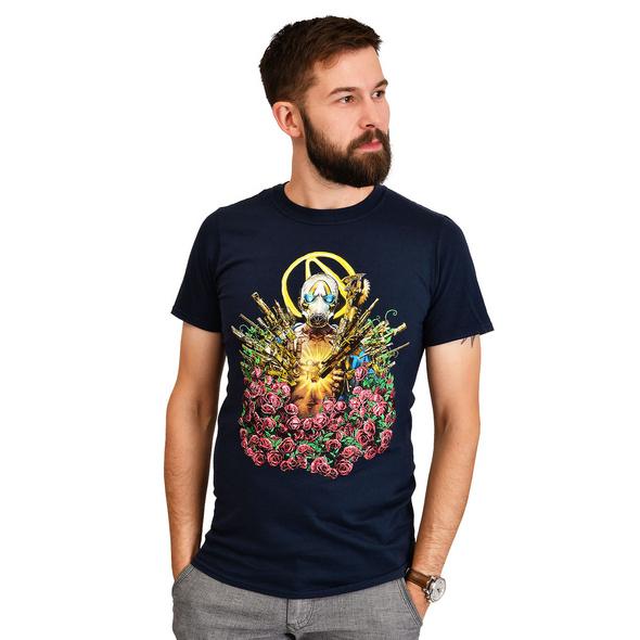 Borderlands - Psycho T-Shirt blau