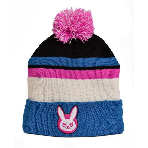 Overwatch - D.VA Bunny Mütze mit Bommel