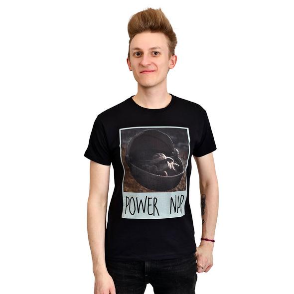 The Child Power Nap T-Shirt schwarz - Star Wars The Mandalorian