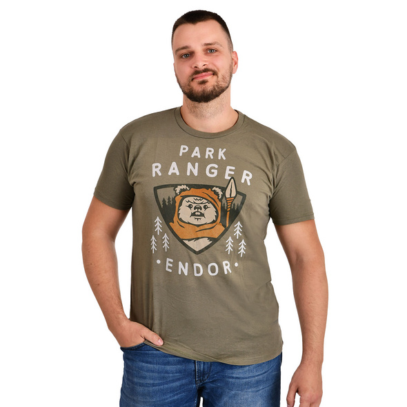 Star Wars - Ewok Park Ranger T-Shirt oliv