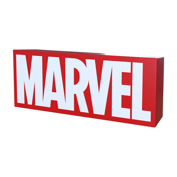 Marvel - Logo Lampe