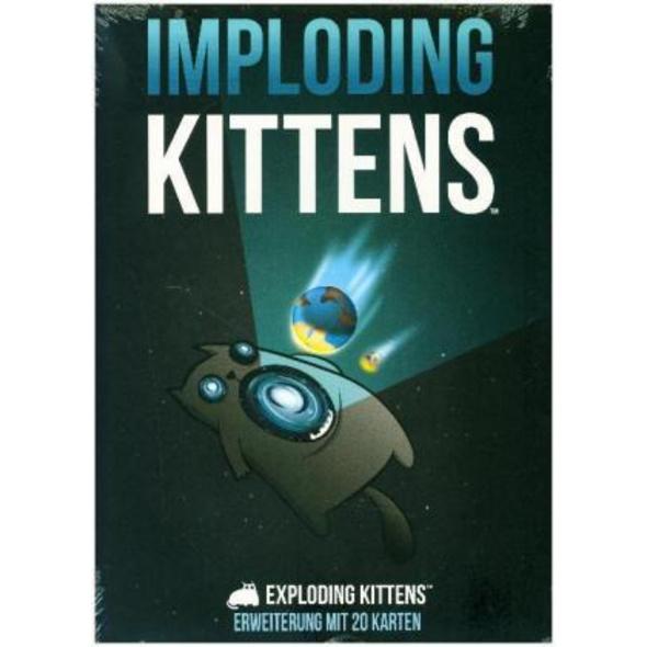 Exploding Kittens - Imploding Kittens  Spiel