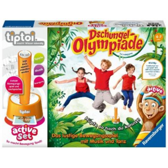 tiptoi  active Set Dschungel-Olympiade