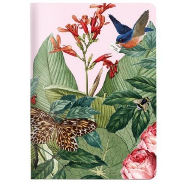 Heft A6 Lovebird, kariert