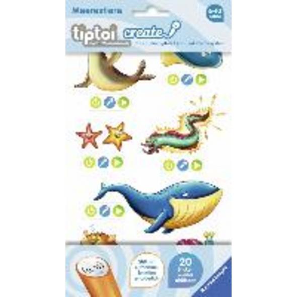 tiptoi  CREATE Sticker Meerestiere