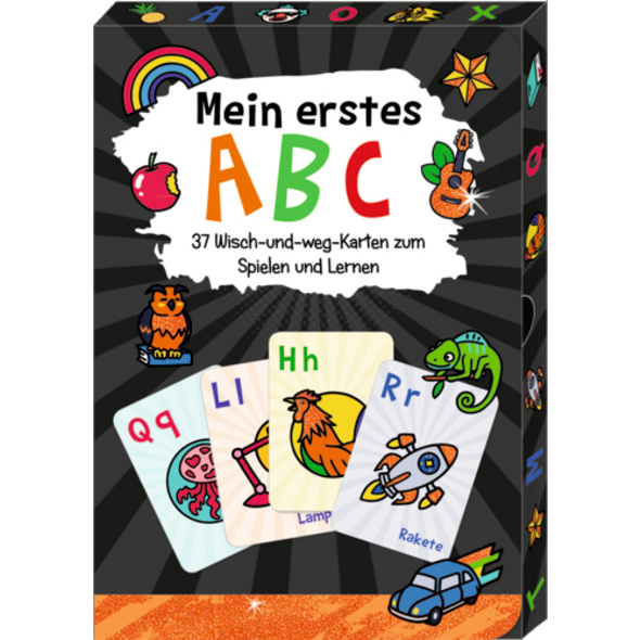 Wisch-und-weg-Wendekarten - Funny Patches - Mein e