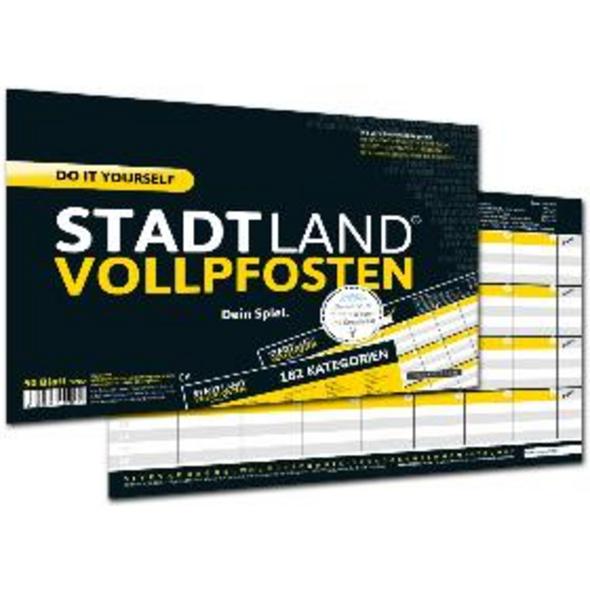 STADT LAND VOLLPFOSTEN  - DO IT YOURSELF-EDITION