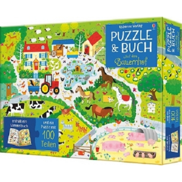 Puzzle   Buch: Auf dem Bauernhof