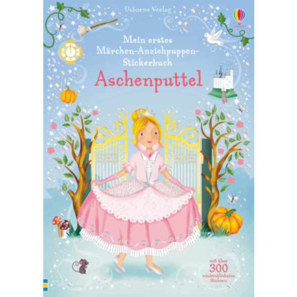 Mein erstes Märchen-Anziehpuppen-Stickerbuch: Asch