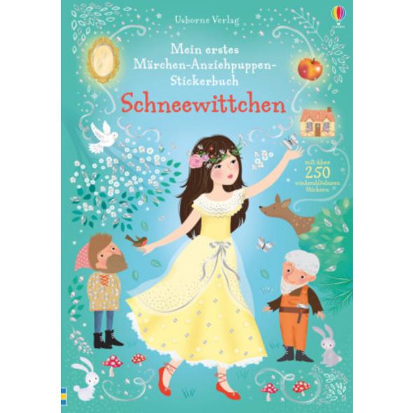 Mein erstes Märchen-Anziehpuppen-Stickerbuch: Schn