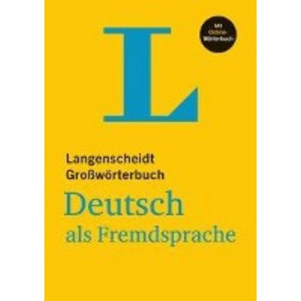 Langenscheidt Großwörterbuch Deutsch als Fremdspra