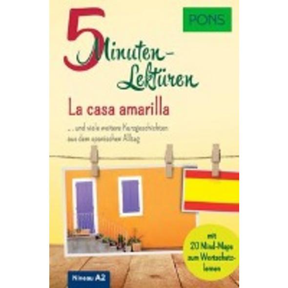 PONS 5-Minuten-Lektüren Spanisch A2 - La casa amar
