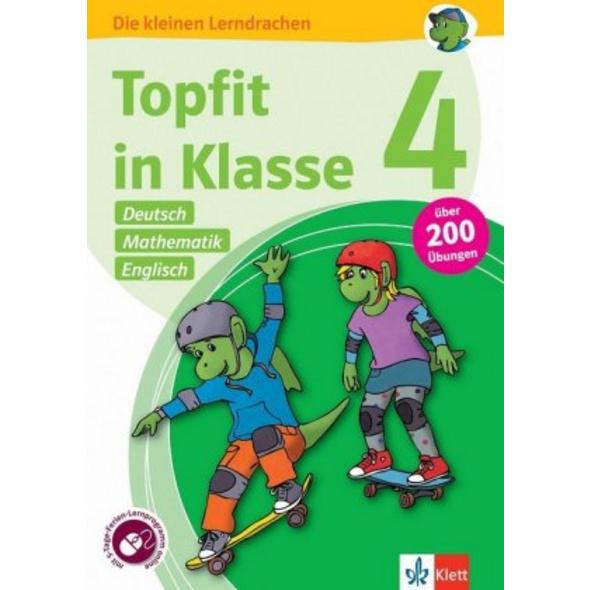 Topfit in Klasse 4 - Deutsch, Mathematik und Engli
