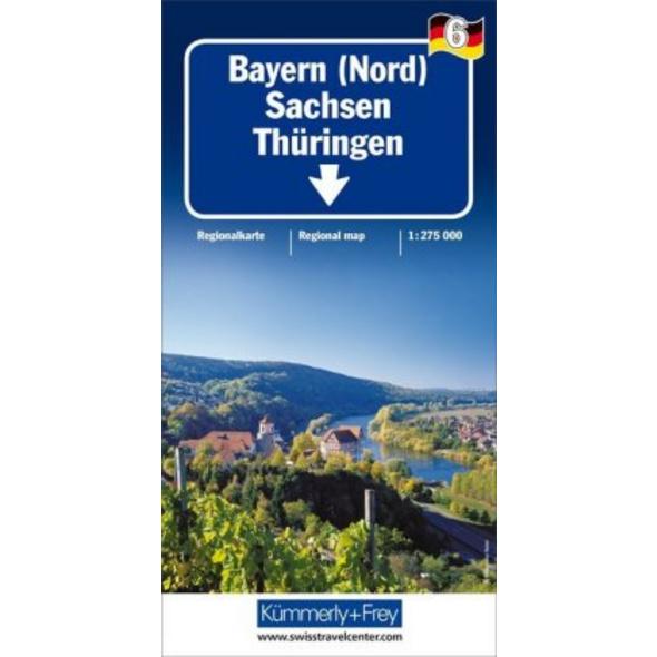 KuF Deutschland Regionalkarte 06. Bayern Nord, Sac