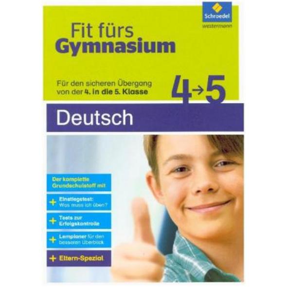 Fit fürs Gymnasium. Übergang 4   5 Deutsch