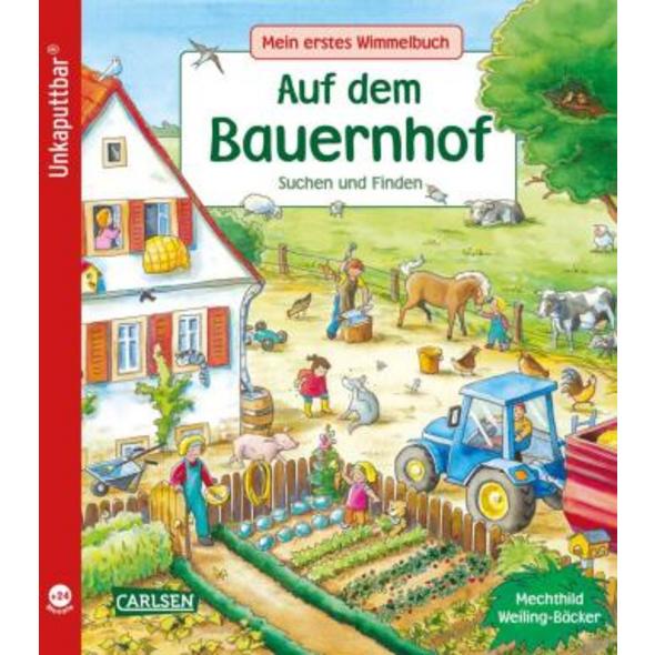 Unkaputtbar: Mein erstes Wimmelbuch: Auf dem Bauer