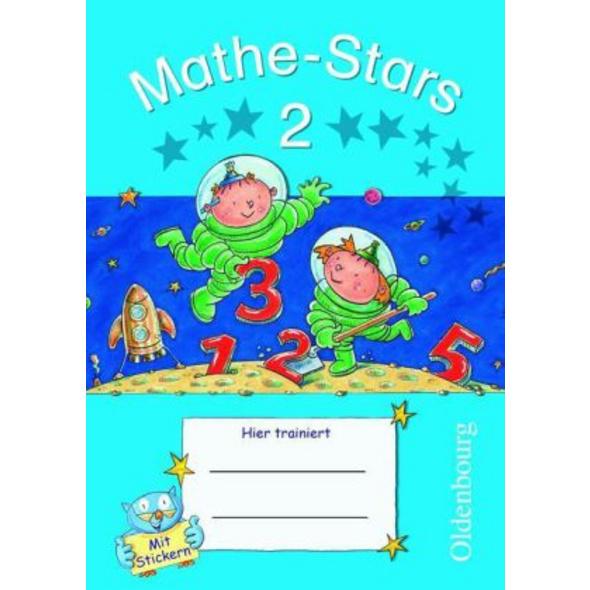 Mathe-Stars 2. Schuljahr. Übungsheft mit Lösungshe