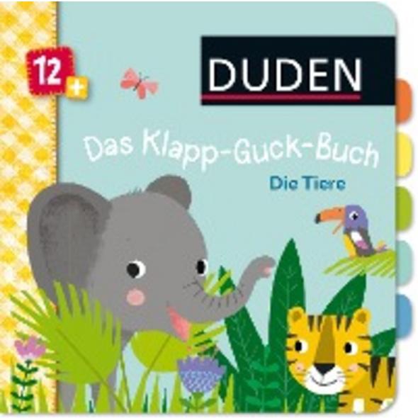 Duden 12 : Das Klapp-Guck-Buch: Die Tiere