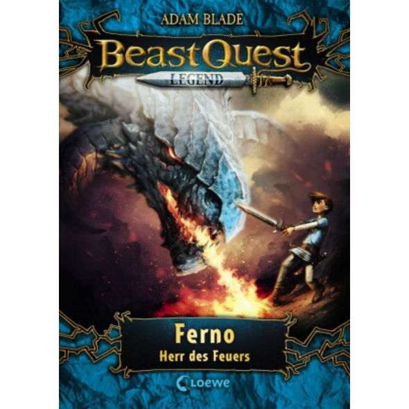Beast Quest Legend 1 - Ferno, Herr des Feuers